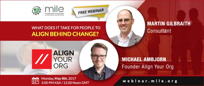 What does it take to align behind change - webinar banner