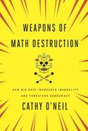 Book cover - Cathy O'Neill - Weapons of Math Destruction