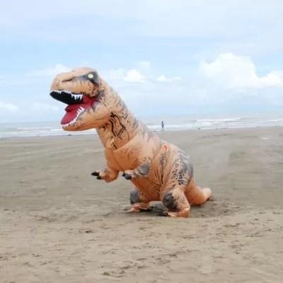 inflatable trex costume