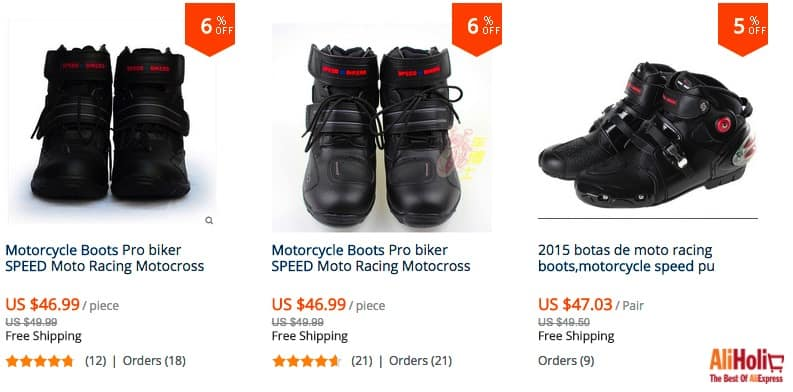 Pro Biker boots regular price