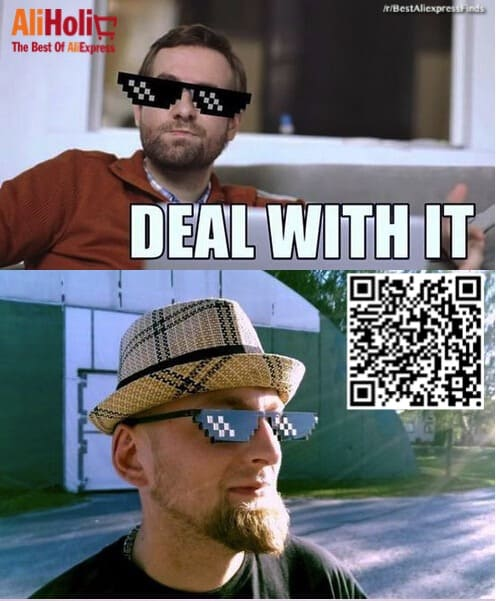 Deal with it sunglasses Aliexpress