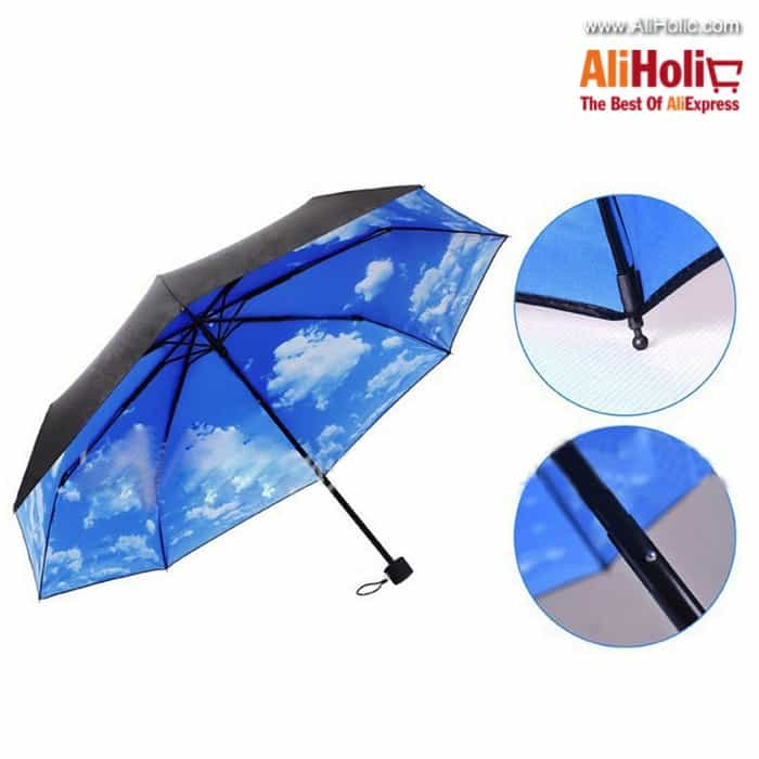 Cloud sky umbrella AliExpress