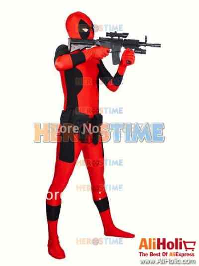 Deadpool cheap costume Aliexpress