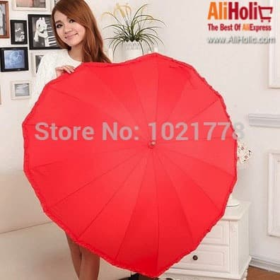 Heart shaped umbrella AliExpress