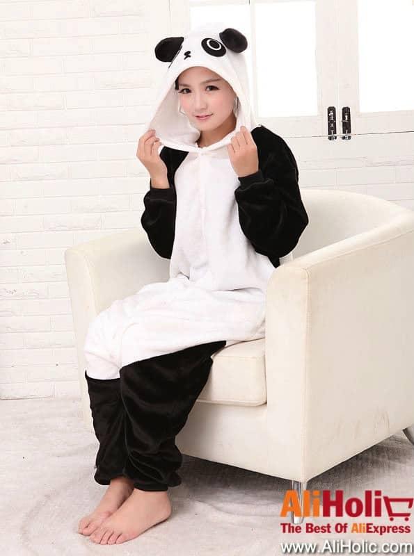 Panda onesie AliExpress