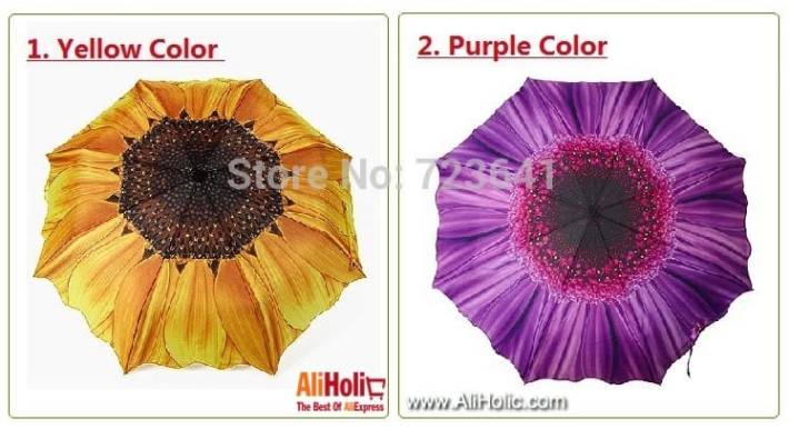 Sunflower umbrella AliExpress