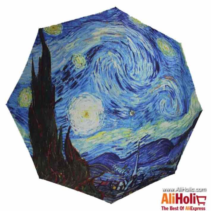 Van Gogh starry sky umbrella AliExpress