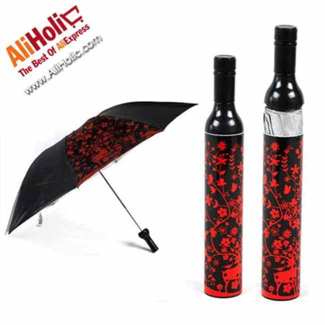 Wine bottle umbrella AliExpress