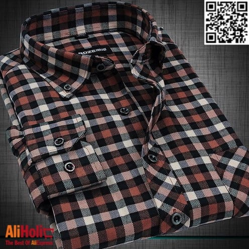Plaid shirts AliExpress 2