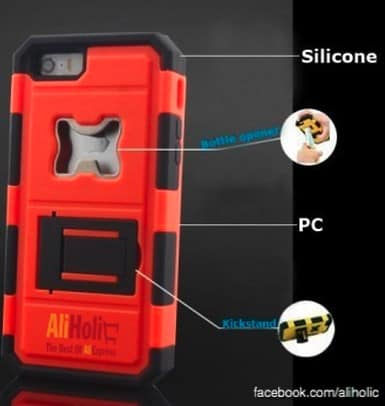 iPhone bottle opener kickstand case AliExpress