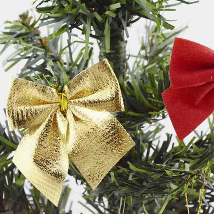 12pc-christmas-tree-bownot-decoration-baubles-xmas-wedding-party-garden-ornament-free-shipping