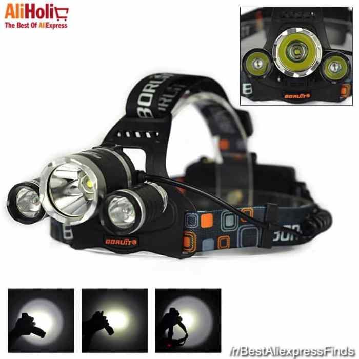 Boruit RJ-3000 Headlight 5000 Lumen