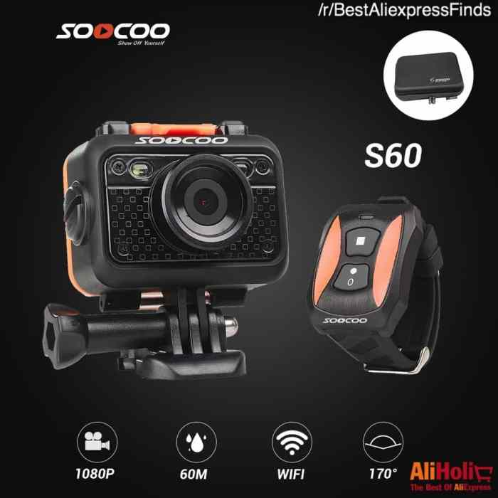 SOOCOO S60 Action Cam 1080p WiFi