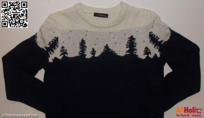Trees sweater 3