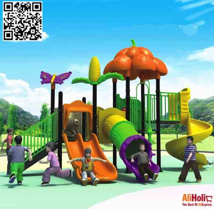 Full kids playground AliExpress