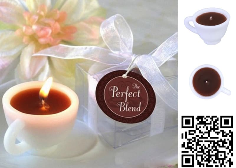 Milky coffee scented candle AliExpress-1