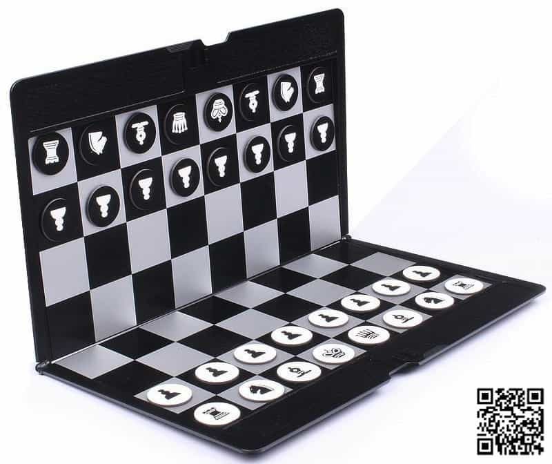 Portable travel minimalist magnetic chess AliExpress