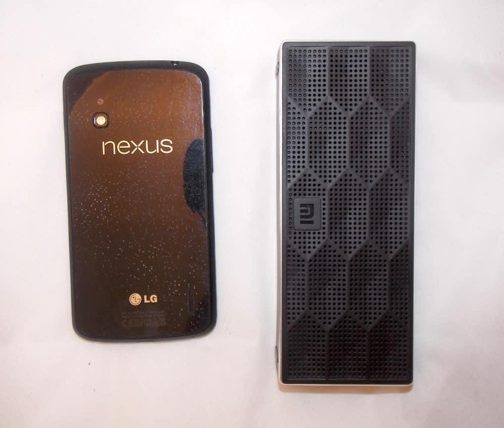 Xiaomi Bluetooth Speaker AliExpress size