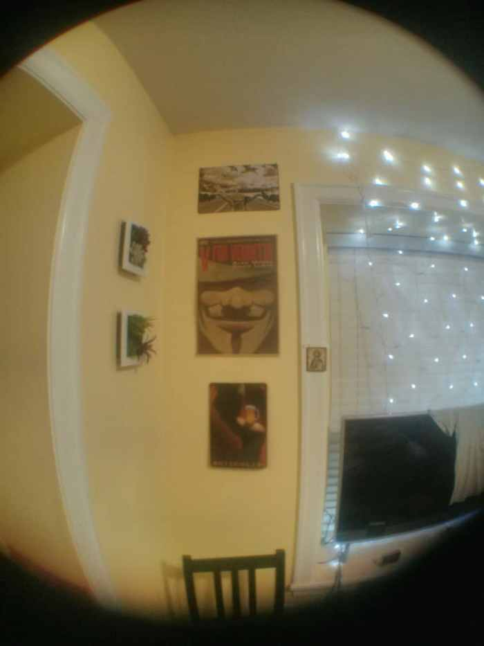 Fish-eye example 3