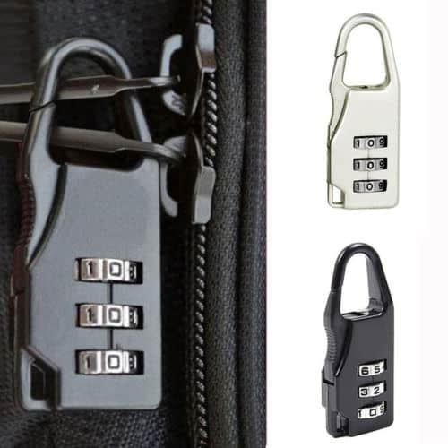 mini travel padlock