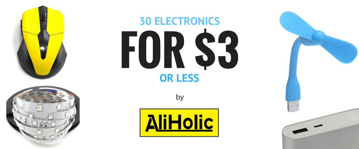 30 AliExpress Electronic Gadgets for $3 Or Less