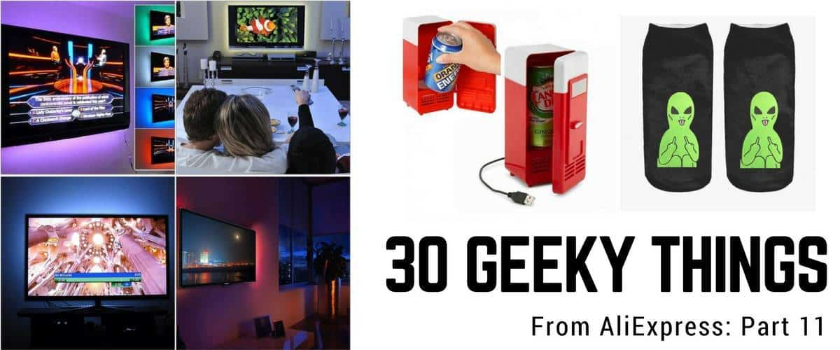 30 Geeky Electronic Gadgets from AliExpress - Vol. 11
