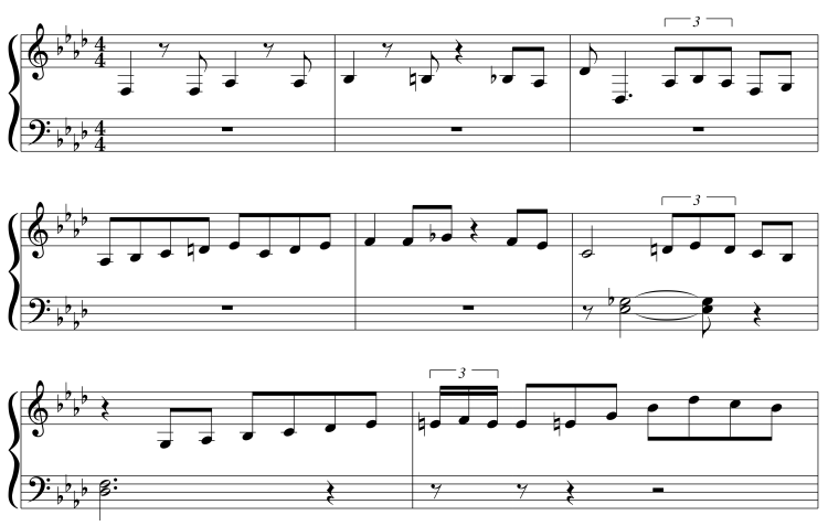 Charles Mingus: Jump Monk (Transcription) | Zeroes and Ones