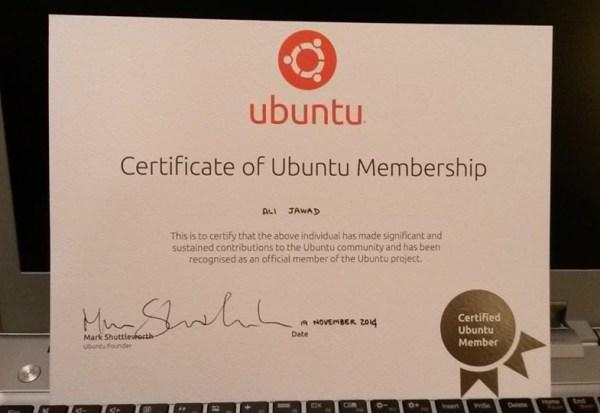 Ubuntu Cert
