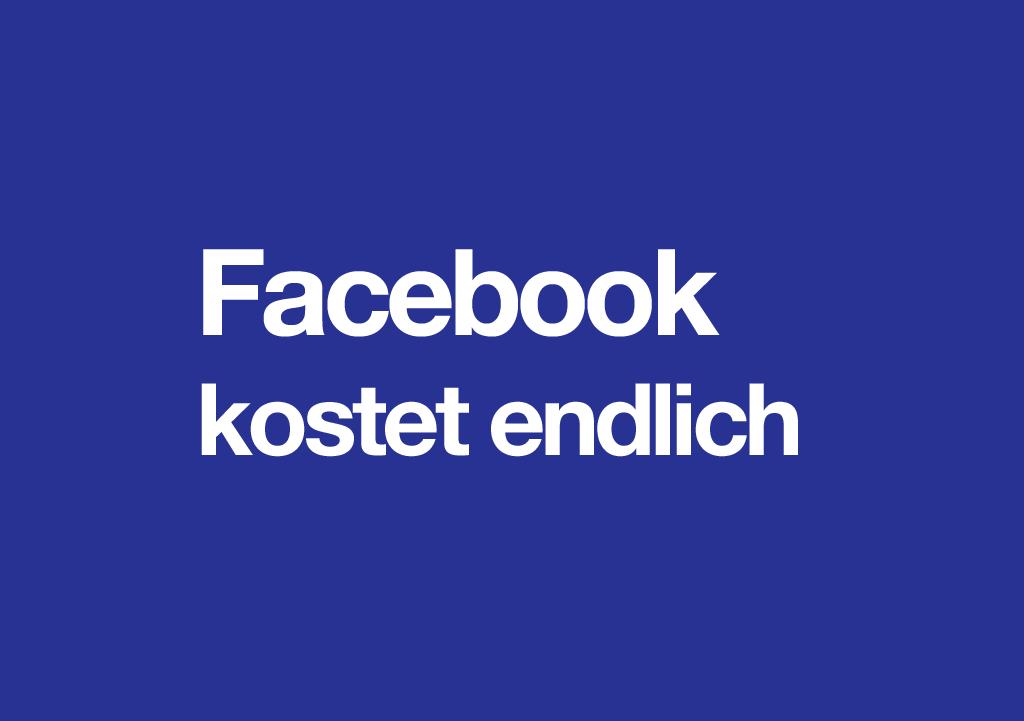 Facebook Kostenpflichtig