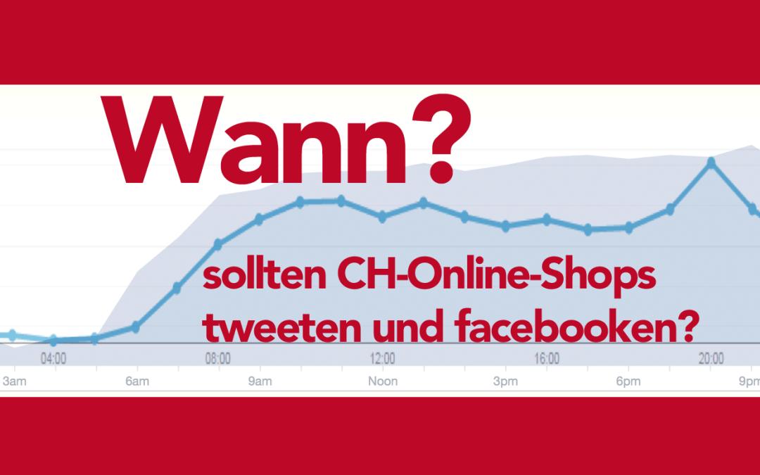 Wann kaufen Schweizer online?