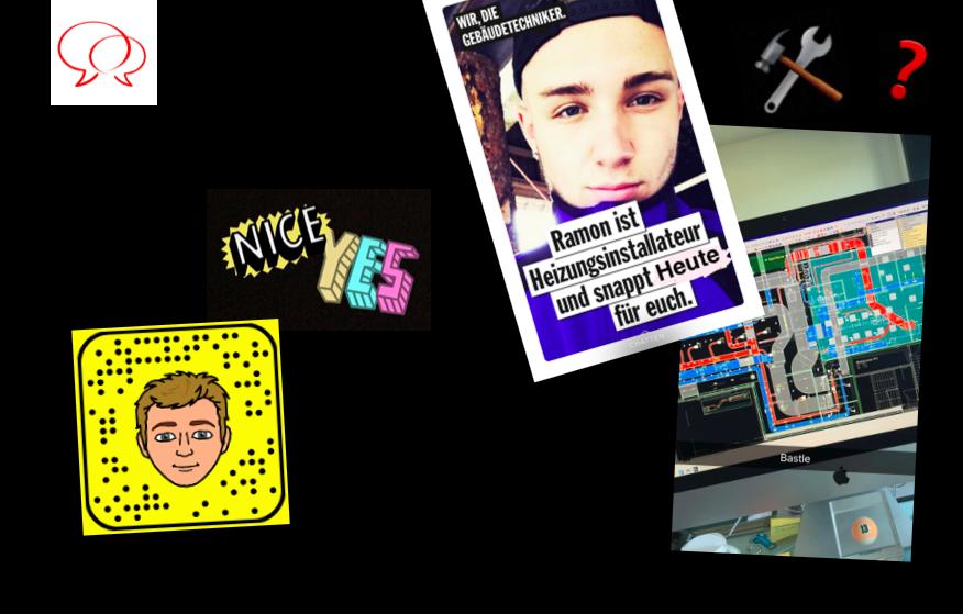 Erfolgs-Story: Snapchat-Kanal für junge Gebäudetechniker