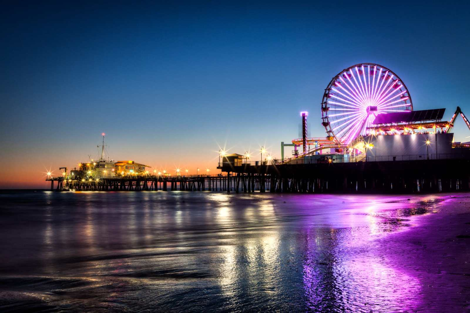 Santa Monica Pier, HDR Photography, Long Exposure, How to use a Tripod