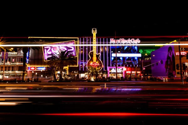 Example of what a shutter does in Las Vegas