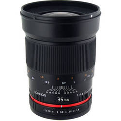 Rokinon 35mm f1.4 AS UMC Lens for Sony E Mount