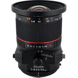 Rokinon T-S 24mm f3.5 ED AS UMC Tilt-Shift Lens for Sony E Mount