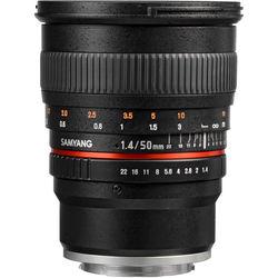 Samyang 50mm f1.4 AS UMC Lens for Sony E Mount