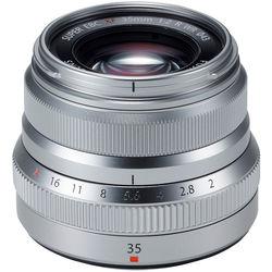 Fujinon 35mm f2 R WR Silver