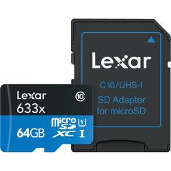 Lexar 633x Micro SD Card