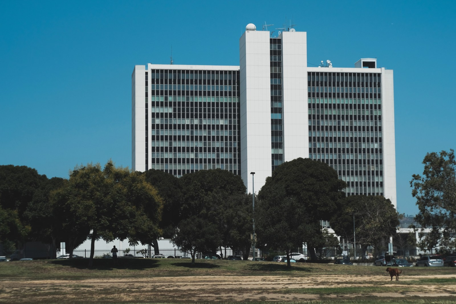 Fujifilm X-T2 with the Helios 44-2 | FBI building, Westood Los Angeles