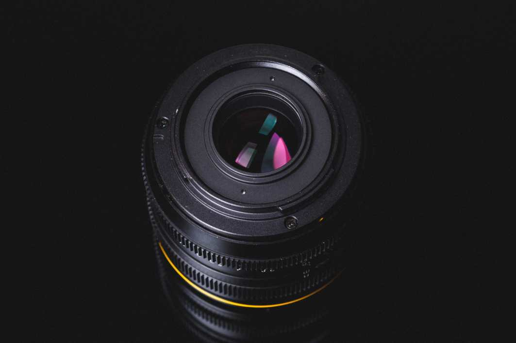 Kamlan 50mm f1.1 Product Shot