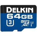 Delkin U3 Micro SD Memory Card