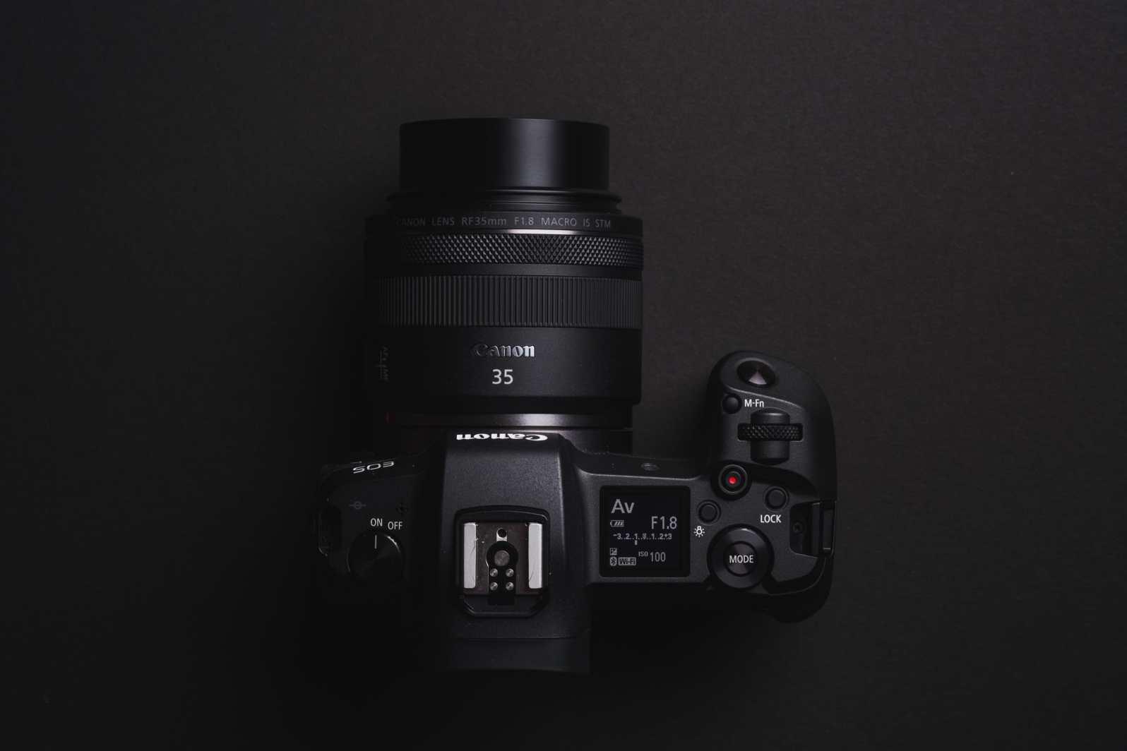 Canon RF 35mm f1.8 Product Shots