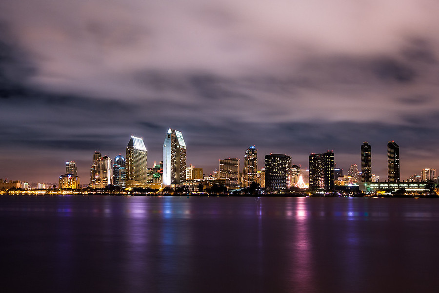 Downtown San Diego from Coronado IslandThis shot of Downtown San Diego was taken while on Coronado Island. San Diego is a very clean a beautiful city but being from Los Angeles it just feels so quiet. I actually lived in San Diego county for about eight years and always sort of took downtown for granted. Now that I take photography more serious I'd like to spend a lot more time there with my camera. There is so much to see and shoot and the city has such a great skyline.See this photo at AlikGriffin.com