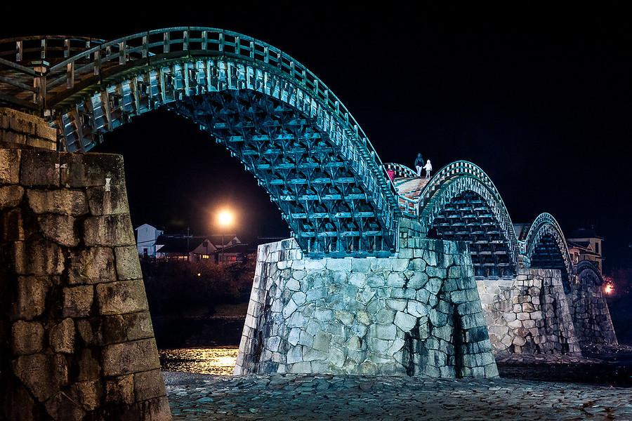 Kentai-Kyo BridgeA very old and famous bridge in Japan. By Alik Griffin