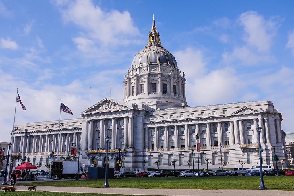 Shot of City Hall