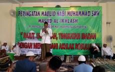 Nizar Salim, ketua DKM Masjid Al Ikhlas