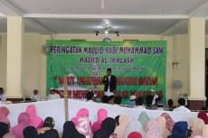 Ustadz Samlawi, Ketua Panitia Peringatan Maulid Nabid Muhammad SAW