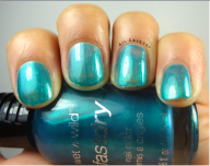 Teal or No Teal- 2 coats
