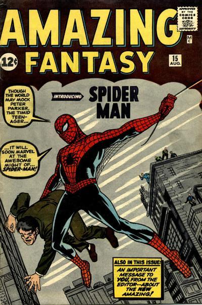 Amazing_Fantasy_Vol_1_15 Jack Kirby Steve Ditko