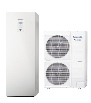 Термопомпа Panasonic Aquarea ALL IN ONE H GENERATION T-CAP KIT-AXC12HE5 (12 kW)-0